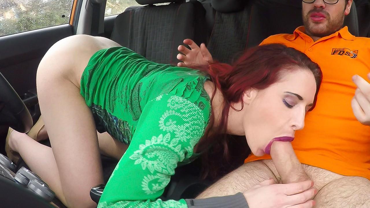 Porn Fake Driving School